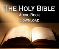 THE HOLY BIBLE AUDIO BOOK MP3 DOWNLOAD - OLD & NEW TESTAMENT 70+ HOURS ENGLISH