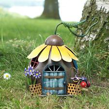 Magic Fairy Garden Sunflower House Decorative Patio Garden Outdoor Ornament
