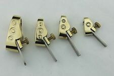 Violin/Cello maker tools, 4pcs various size Mini Brass planes woodworking planes