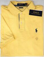 Polo Ralph Lauren Yellow Short Sleeve Shirt Mens Classic Fit NWT Cotton NEW $79