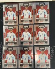 LOT(9)Marcus Rashford 2018 Panini Prizm World Cup Rookie #72 England