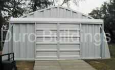 DuroSPAN Steel 20x22x12 Metal Garage Storage Building Workshop Factory DiRECT
