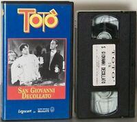 Totò San Giovanni decollato VHS