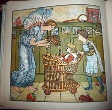 Baby's Bouquet, Walter Crane Illust., Children's Songs & Music, Edmund Evans