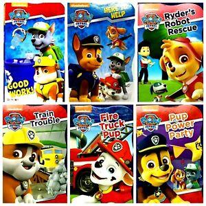 Nickelodeon Paw Patrol Children's Board Books CHOICE of 6 Pre-K NEW!