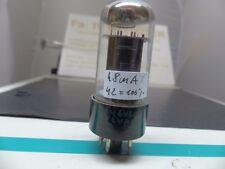 1x 6v6gt/G 6v6g vt-107a Black Plate Tube Valvola Tubo NOS esegue test