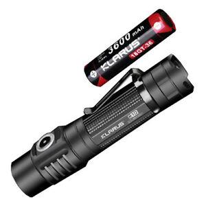 Klarus G10 Rechargeable Flashlight - CREE XHP35 HD E4 LED - 1800 Lumens