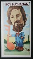 ROY BUCHANAN   Guitarist    Vintage Colour Card
