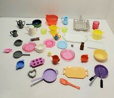 Barbie MISC POTS PANS PLATES DISHES PITCHERS Accessories Food Grocery Kitchen