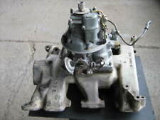 Ford Four Barrel Y Block Intake Manifold and Carburetor