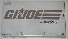 GI Joe Renegades 4-Pack New Unopened Amazon Exclusive - Minor Box Damage