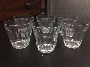 Duralex Glass Tumblers (Set of 6) - approx 270ml