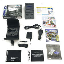 Nintendo Game Boy Advance SP BRAND NEW Graphite Backlit System GBA-SP AGS-101