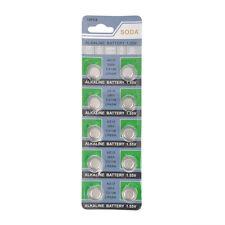 10 Pack AG12 L1142 LR43 386A SR43 1.55V Alkaline Battery For Watch Remote Toys