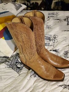 LUCCHESE Lewis M1008.74 Mad Dog Goat Snip Toe 11.5 D
