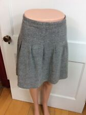 MODBE Tweed Skirt A Line Back Zipper Metallic Shimmer Women's Large