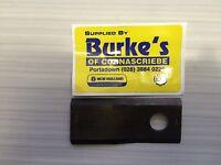Kuhn & John Deere Mower Blades Pack of  10 Left Hand  Anti Clockwise