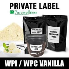 Your own brand Lean Whey Protein Vanilla WPC WPI MPC Blend 10kg