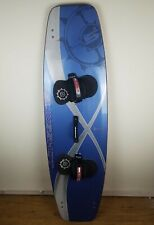 "Slingshot Kiteboard Kitesurf SX157 61"" x 18"" W/ Bearings Footpad & Handle Blue"