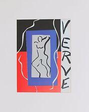 Henri Matisse Lithograph Verve Ultimate Review Illustration 1988