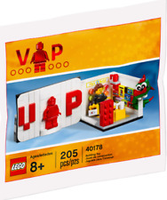 Lego 40178 Limited Edition 205 Piece Set Vip Store Exclusive New Sealed