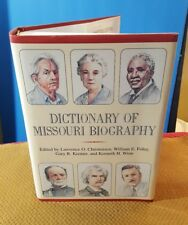 SIGNED Dictionary of Missouri Biography (1999, Hardcover w/DJ)