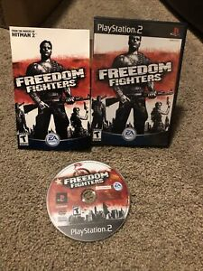 Freedom Fighters PlayStation 2 PS2 CIB Complete w/ Manual & Case NEAR MINT OEM