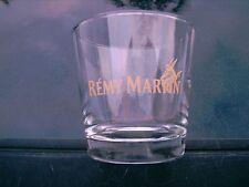 "REMY MARTIN FINE CHAMPAGNE COGNAC 3""  GLASS  GOLD  LETTERING"