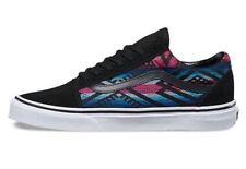 New Vans Mens 9 Womens 10.5 Old Skool Moroccan Geo Black Shoes Sneakers Skate