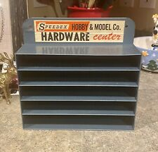 Vintage Speedex Hobby & Model Co. Metal Wall Display Shelf