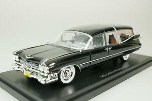 Cadillac S & S Superior Hearse 1959 Black 1/43 Neo 49596 New