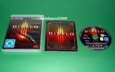 Diablo 3 Diablo III mit Anleitung und OVP fuer Playstation 3 PS3