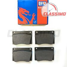 Front Brake Pads Set of 4 for JAGUAR E TYPE - Series 2 & 3 - 1968 to 1975 - QH