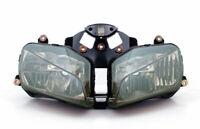 Gruppo ottico faro fanale anteriore Per Honda CBR600RR CBR 600RR 2003-2006 Fumo