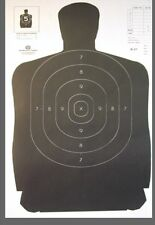 30 Pack  B 27 Silhouette paper shooting target 12x18   110 lb paper