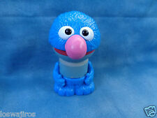 """Learning Curve Play Town 2007 Real Wood & Plastic Cookie Monster Figure 2 1/2"""""""