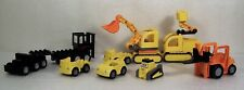 Lego Duplo Construction Vehicle Car Truck Fork Lift Loader Building Toy Lot