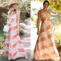$179 NWT ModCloth X Hutch Summery Day Open Back Maxi Dress, 0