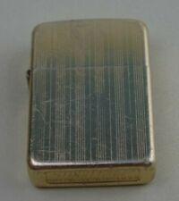 Vintage Storm King Windproof Lighter Gold Tone Flip Top Pocket TN     L8