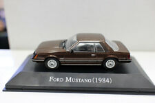 New 1/43 Scale Diecast Model Car Ford Mustang 1984 For collection
