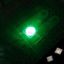 10 pcs PLCC-6 5050 POWER SMT SMD 3 CHIPS GREEN 3500mcd LED Llight Lamp Bright