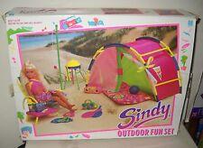 #6854 Nrfb Vintage Hasbro Sindy Outdoor Fun Playset