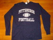 University Pittsburgh PITT PANTHERS  FOOTBALL long sleeve T-Shirt NEW ...  LARGE