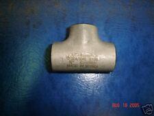"""Stainless Steel Butt Weld Tee, 3/4"""" Sch 10 T-304/L New"""