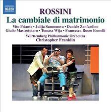 Rossini: La Cambiale Di Matrimonio, New Music