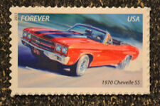 2013USA #4746 Forever Muscle Cars - 1970 Chevelle SS  -  Mint NH
