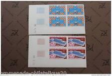 MADAGASCAR timbre-stamp Yvert et Tellier n°474 et 475 non dentelés-Bloc de 4-n**