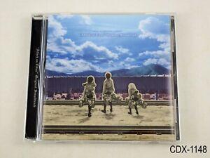 Attack on Titan Original Soundtrack CD OST Shingeki no Kyojin J Import US Seller