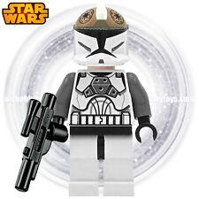 LEGO Star Wars Minifigure - Clone Gunner c/w Blaster ( 8014 , 8039 )