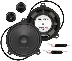 MB Quart QM165 E46 BMW 16,5 cm 2-Wege-Lautsprecher 140 Watt RMS: 90 Watt für 3er